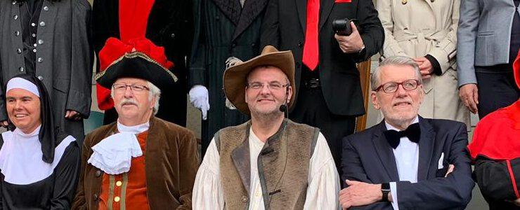 Vogtgeding XIII des Bürgervereins Geistenbeck (Müll)Ehen vor Gericht